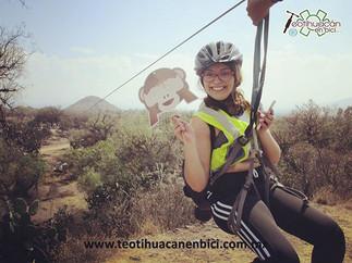 Tirolesa Teotihuacan