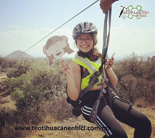 Tirolesa Teotihuacán