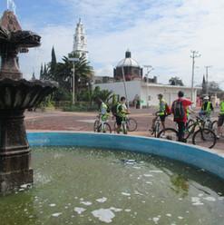Paseo en bicicleta Teotihuacan