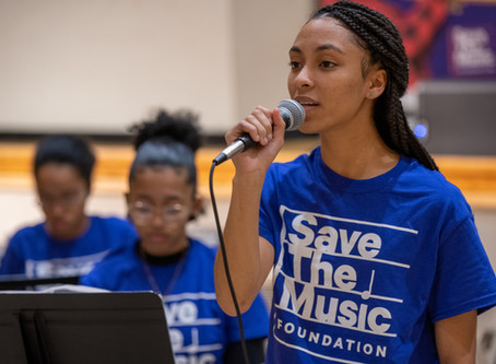 """TYWLS showcase talent at VH1 """"Save the Music"""" Event"""