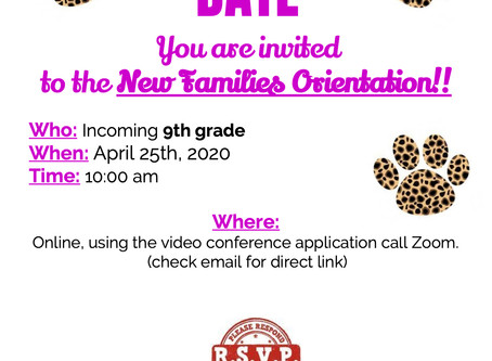 Virtual Orientation for Incoming Students - HS