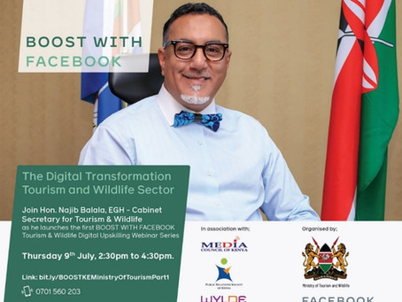 Ministry of Tourism & Wildlife partners with Facebook and WYLDE International to upskill the sectors