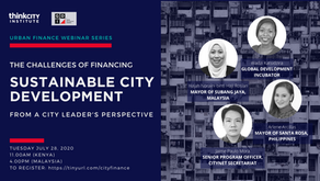 Urban Finance Webinar 2-Challenges of Financing Sustainable City Development-From City Leaders