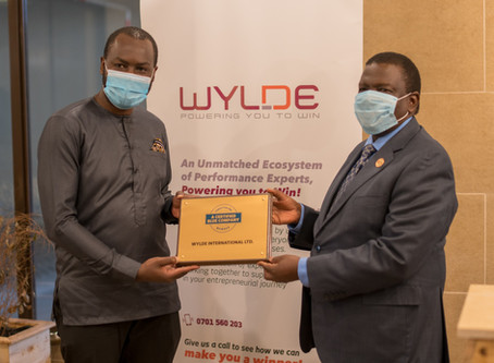 Wylde international receives blue certificate for ethical business practice