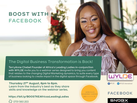 Africa's Leading Ladies upskill with Facebook's digital Marketing