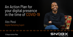 An Action Plan for your digital presence in the time of COVID-19