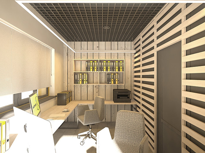 Дизайн офиса нефтяной компании