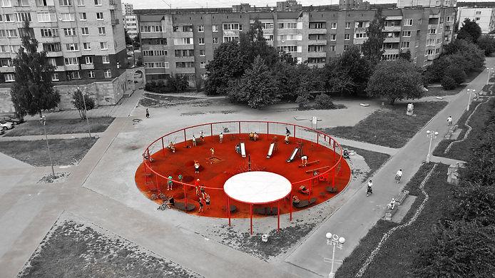 Дизайн детских площадок