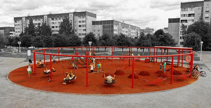 Красная площадка на Аэродроме