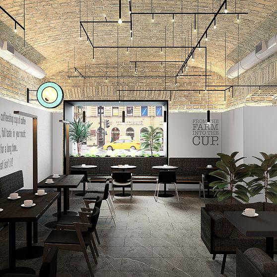 дизайн кофейни в петербурге