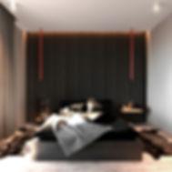 Спальня с экологичными материалами