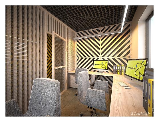 Дизайн рабочего офиса