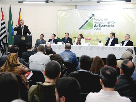 Lançamento do Pacote da Economia Local movimenta Prefeitura