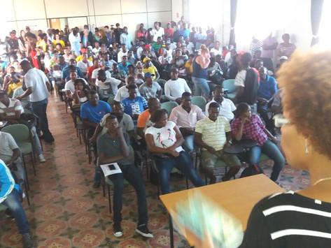 Prefeitura promove encontro com a comunidade haitiana