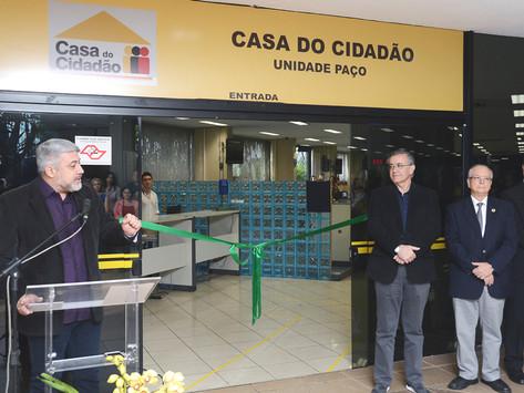 Casa do Cidadão é reinaugurada no Paço Municipal