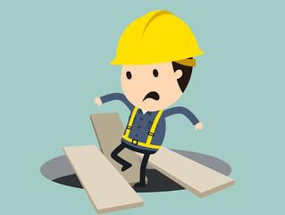 No Brasil os acidentes de trabalho atingem cerca de 1% da população