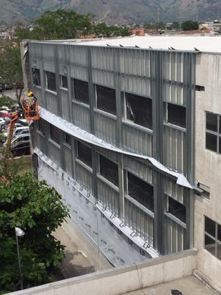 Hospital da Mulher (RJ) remodela fachada com o Sistema Durock Next Gen da USG