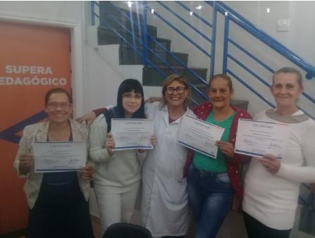 Certificação do curso Cálculo e Administração de Medicamentos.