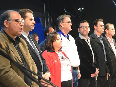 Parque das Águas recebeu abertura dos Jogos Regionais