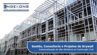 Gestão, Consultoria e Projetos de Drywall