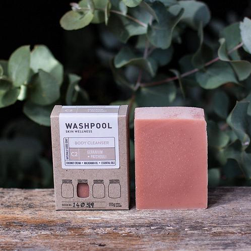 Geranium and Patchouli Coconut Cream Soap Bar
