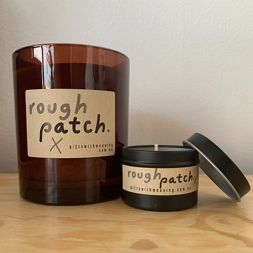 Rough Patch x Gifts With Meaning Candle