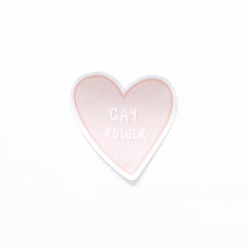 Gay Power Sticker
