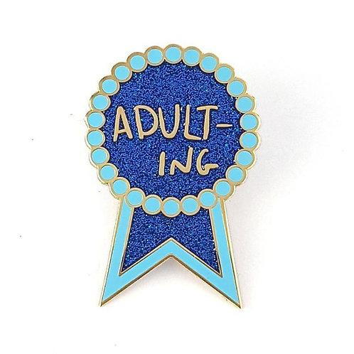 Adulting Lapel Pin