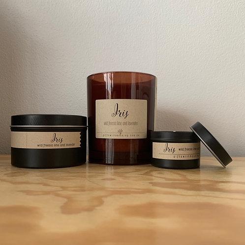 "Candle ""Iris"""