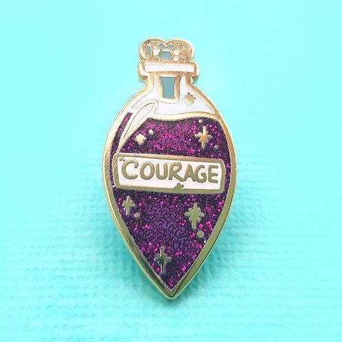 Elixir of Courage Lapel Pin