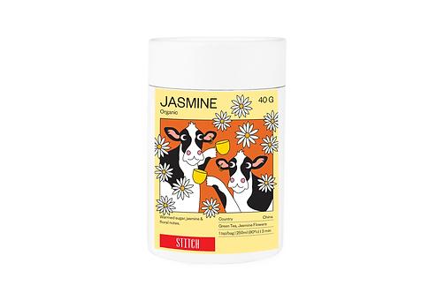 Organic Jasmine Green Tea 40g
