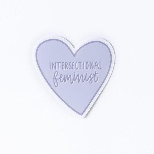 Intersectional Feminist Sticker