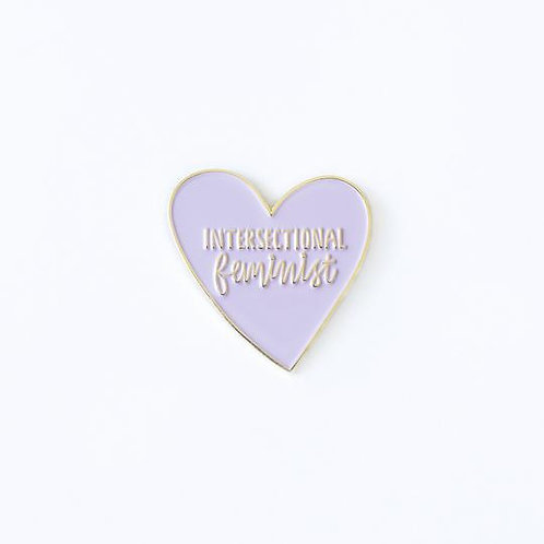 Intersectional Feminist Pin