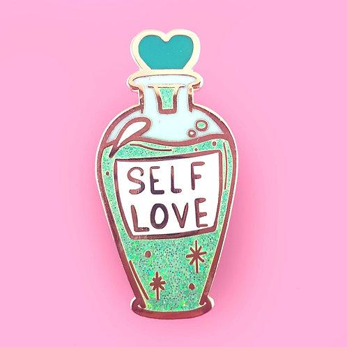 Self-Love Tonic Lapel Pin