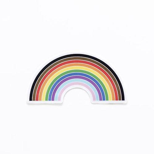 Inclusive Rainbow Sticker
