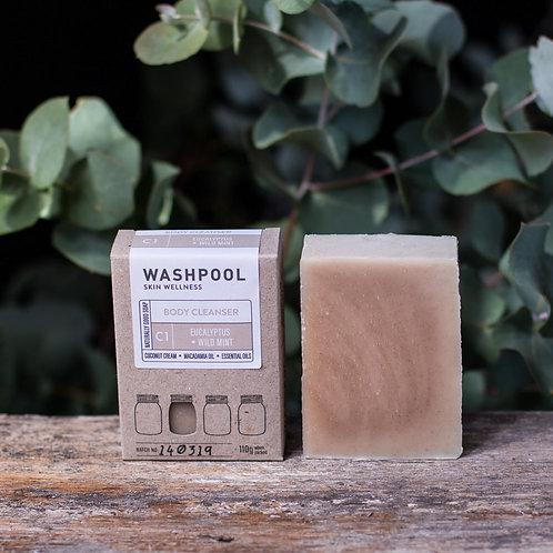 Eucalyptus and Wild Mint Coconut Cream Soap Bar