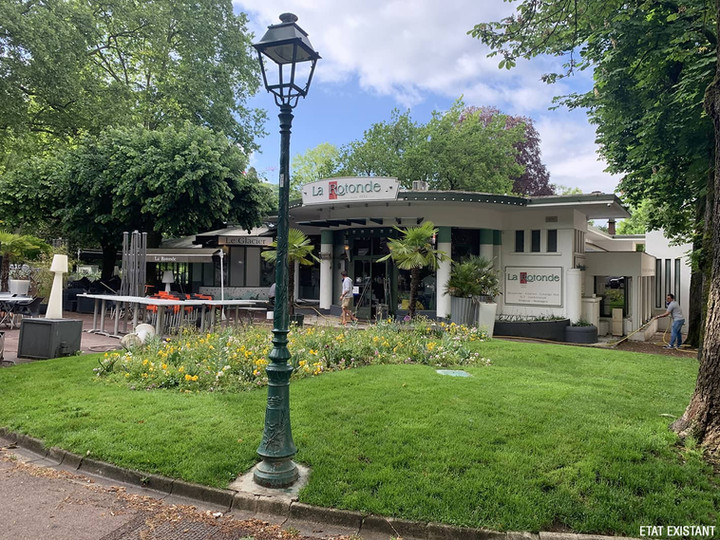 "Restaurant ""La Rotonde"" - Terrasse"