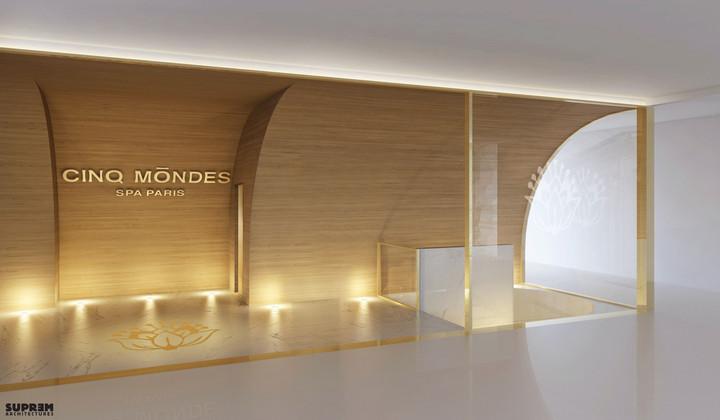 """Spa """"Cinq Mondes"""" DUBAÏ - 3D Entrée"""