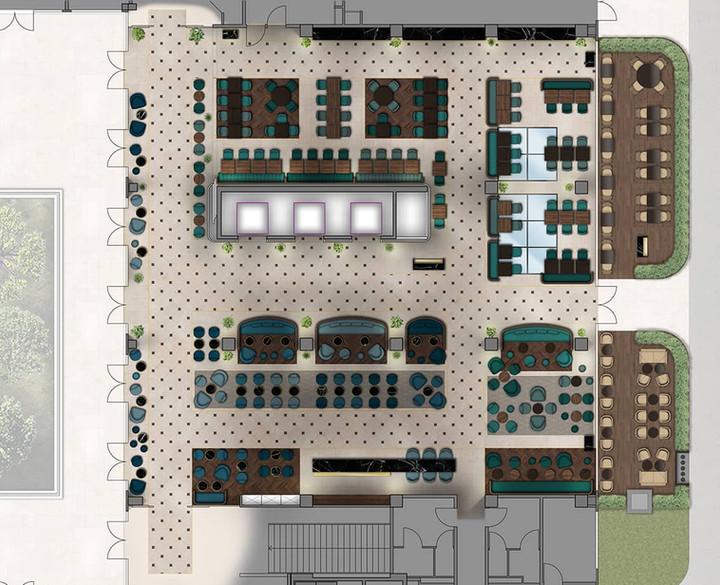 "Bar & Restaurant du ""Crowne Plaza"""