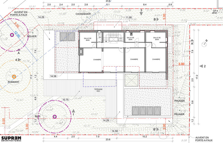 Maison RUBAN - Plan étage