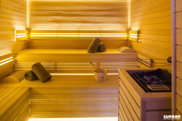 """Spa """"La Parenthèse"""" GOLDEN TULIP - Sauna"""