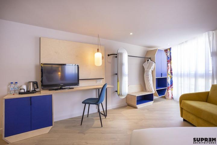 "Hôtel ""Urban Hôtel""*** - Chambre triple"