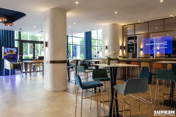 """Hôtel """"Le Garden"""" GOLDEN TULIP - Bar"""