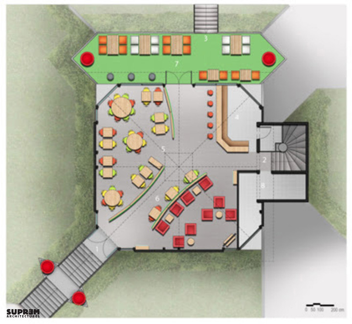 Concept Club House - Plan