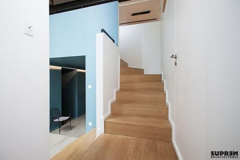 Maison NAB - Escalier