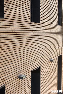 Maison NAB - Détail façade