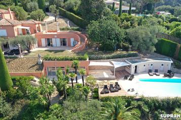 Villa Z - Vue aérienne extension et piscine