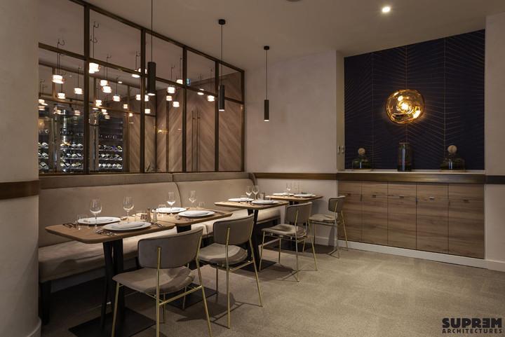 "Restaurant ""L'Alchimiste"" Hôtel Golden Tulip**** - Banquette"