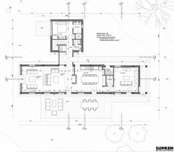 Maison MOULIN - Plan rez-de-chaussée