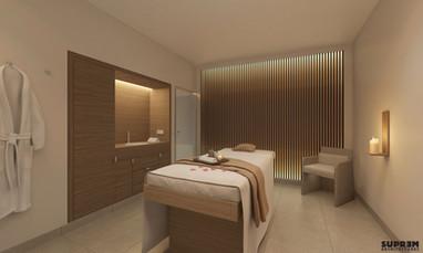 """Spa """"La Parenthèse"""" GOLDEN TULIP - 3D Salle de soins simple"""